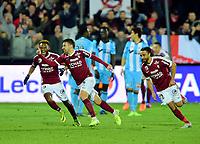 FOOTBALL : Metz vs Marseille - Ligue 1 - 28/01/2017<br /> But de Yann Jouffre - Pele<br /> Norway only
