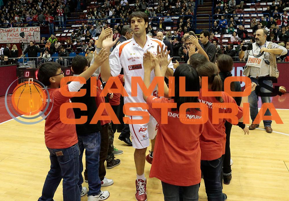 DESCRIZIONE : Milano Lega A 2012-13 EA7 Emporio Armani Milano Banco di Sardegna Sassari <br /> GIOCATORE : Gianluca Basile<br /> CATEGORIA : ritratto<br /> SQUADRA : EA7 Emporio Armani Milano<br /> EVENTO : Campionato Lega A 2012-2013 <br /> GARA : EA7 Emporio Armani Milano Banco di Sardegna Sassari<br /> DATA : 02/12/2012<br /> SPORT : Pallacanestro <br /> AUTORE : Agenzia Ciamillo-Castoria/E.Andreoli<br /> Galleria : Lega Basket A 2012-2013  <br /> Fotonotizia : Milano Lega A 2012-13 EA7 Emporio Armani Milano Banco di Sardegna Sassari