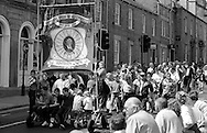 Armthorpe Branch banner. 1992 Yorkshire Miners Gala, Barnsley.