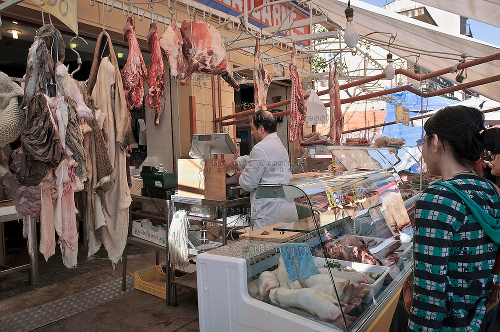 Palermo:mercato storico di Ballar&ograve;<br /> Palermo: Ballar&ograve; historic market