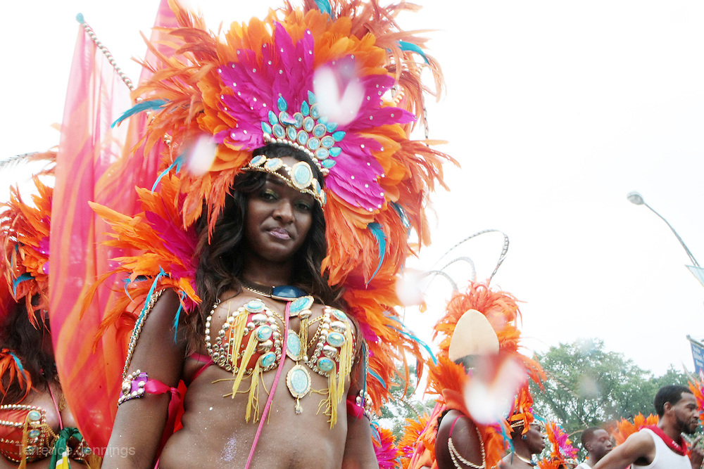 2 September 2013- Brooklyn, NY: Parade Participants attend the 46th Annual West Indian Day Parade held along Eastern Parkway held on September 2, 2013 in Brooklyn, NY  ©Terrence Jennings