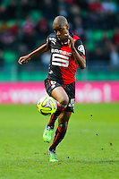 Gelson FERNANDES  - 25.01.2015 - Rennes / Caen  - 22eme journee de Ligue1<br /> Photo : Vincent Michel / Icon Sport *** Local Caption ***