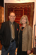 Kurt and Nancy Jeffries.The New-York Histoircal Society.Opening of:Woven Splendor from Timbuktu to Tibet: Exotic Rugs and Textiles from New York Collectors