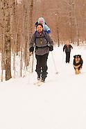 Cross-Country Ski Family, Vermont