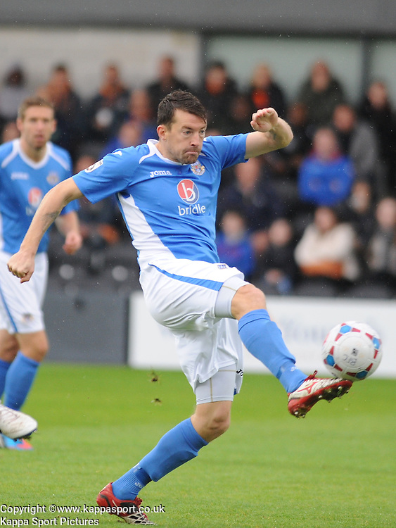 Chris Todd,  Eastleigh FC, Barnet v Eastleigh, Vanarama Conference, Saturday 4th October 2014
