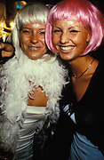 Two girls in wigs, Ibiza 1999