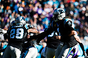 December 10, 2017: Minnesota vs Carolina. Cam Newton, Jonathan Stewart