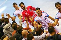 Cyril Dumoulin - 01.04.2015 - Toulouse / Cesson Rennes - 19eme journee de Division 1<br />Photo : Manuel Blondeau / Icon Sport