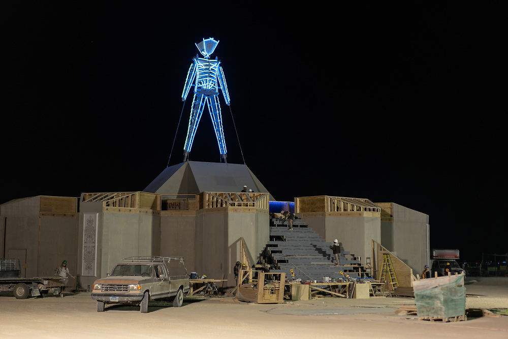 Relatively good conditions at this moment. My Burning Man 2018 Photos:<br />