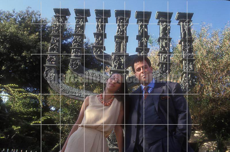 Jerusalem, 1991. Israeli conductor Daniel Oren and his wife Shulamith Orvieto / Gerusalemme, 1991. Il direttore d'orchestra Daniel Oren e sua moglie Shulamith Orvieto - © Marcello Mencarini