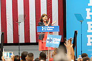 Representative Ann Kirkpatrick campaigning for Hillary Clinton in phoenix, AZ. on October 20, 2016. October 20, 2016. Michelle Obama visits Downtown Phoenix to rally for Hillary Clinton at the Convention Center.