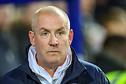 Queens Park Rangers Manager Mark Warburton during the EFL Sky Bet Championship match between Queens Park Rangers and Brentford at the Kiyan Prince Foundation Stadium, London, England on 28 October 2019.
