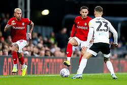 Josh Brownhill of Bristol City is challenged by Joe Bryan of Fulham - Rogan/JMP - 07/12/2019 - Craven Cottage - London, England - Fulham v Bristol City - Sky Bet Championship.