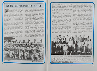 All Ireland Senior Hurling Championship Final,.Galway Vs Offaly,Offaly 2-11, Galway 1-12,.01.09.1985, 09.01.1985, 1st September 1985,.01091985AISHCF, Jubilee Final Remembered 1960,.