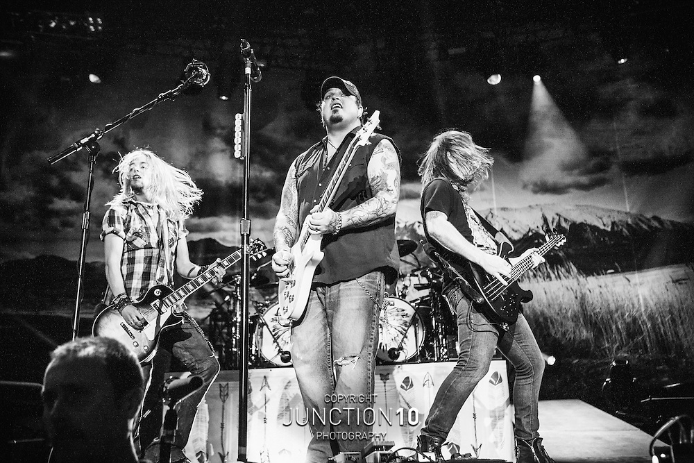 Black Stone Cherry in concert at the LG Arena, Birmingham, United Kingdom<br /> Picture Date: 30 October, 2014