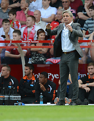 BlackPool's Manger Jose Riga gives directions on the touchline. - Photo mandatory by-line: Alex James/JMP - Mobile: 07966 386802 09/08/2014 - SPORT - FOOTBALL - Nottingham - City Ground - Nottingham Forest v Blackpool - Sky Bet Championship - First game of the season