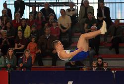 "Ziga Silc at event ""Slovenian Gymnastics stars"" after the European Championships in Milano, on April 6, 2009, in Hall Slovan, Kodeljevo, Ljubljana, Slovenia. (Photo by Vid Ponikvar / Sportida)"