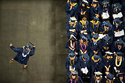 The class of 2018 walks at Undergraduate Commencement on Sunday, May 13 at the Spokane Arena. Photo by Amanda Ford.