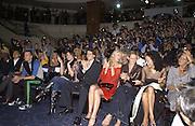 Martine McCutcheon, Ioan Gruffudd, Joely Richardson, Saffron Aldridge, Jeanete Calliva and Countess Leopold von Bismarck. Julian Macdonald  fashion show, Le Meridien Grosvenor House. After party, Il Bottaccio, Grosvenor Place. London. 14 September 2002. © Copyright Photograph by Dafydd Jones 66 Stockwell Park Rd. London SW9 0DA Tel 020 7733 0108 www.dafjones.com