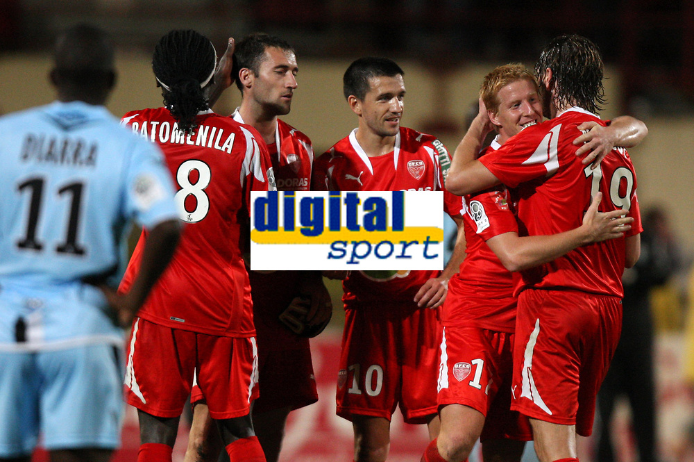 Fotball<br /> Frankrike<br /> Foto: Dppi/Digitalsport<br /> NORWAY ONLY<br /> <br /> FOOTBALL - FRENCH CHAMPIONSHIP 2008/2009 - L2 - DIJON FOOTBALL v FC TOURS - 22/08/2008 - JOY DIJON