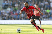 Southampton midfielder Nathan Redmond (22) during the Premier League match between Brighton and Hove Albion and Southampton at the American Express Community Stadium, Brighton and Hove, England on 30 March 2019.