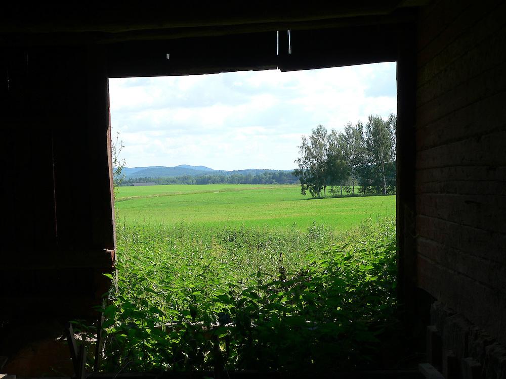 Utsikt i Dalarna