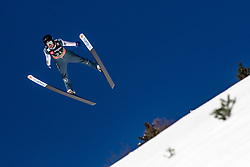 Casey Larson (USA) during the Trial Round of the Ski Flying Hill Individual Competition at Day 1 of FIS Ski Jumping World Cup Final 2019, on March 21, 2019 in Planica, Slovenia. Photo by Matic Ritonja / Sportida