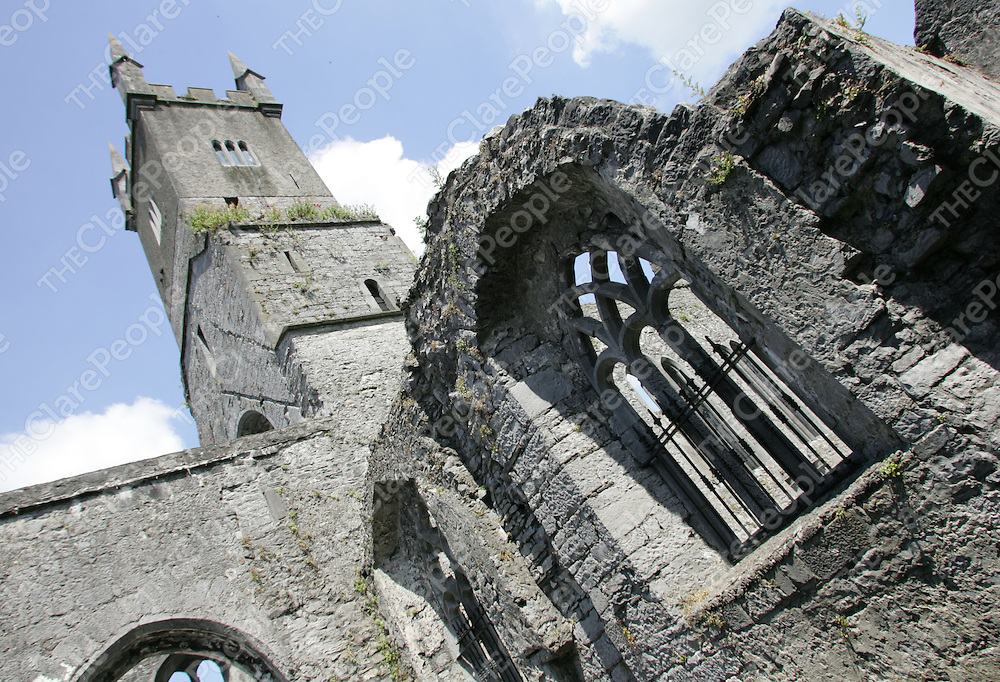 The Ennis Friary which is in the hands of the OPW (Office of Public Works). Pic Sean Curtin Press 22.<br /> <br /> these pictures are NOT to be used in any advertisment or/and can only be used in educational or tourism stories. OPW<br /> IF unsure check with photographer