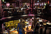 Opening of London's largest South african restaurant: Shaka Zulu. Stables amrket. Camden. London. 4 August 2010. <br /> -DO NOT ARCHIVE-© Copyright Photograph by Dafydd Jones. 248 Clapham Rd. London SW9 0PZ. Tel 0207 820 0771. www.dafjones.com.