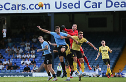 Ryan Sandford of Millwall punches clear under pressure - Mandatory by-line: Arron Gent/JMP - 24/07/2019 - FOOTBALL - Roots Hall - Southend-on-Sea, England - Southend United v Millwall - pre season friendly