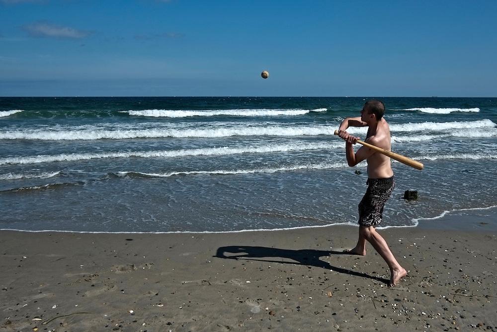 Baseball, Narragansett Beach. Narragansett, RI