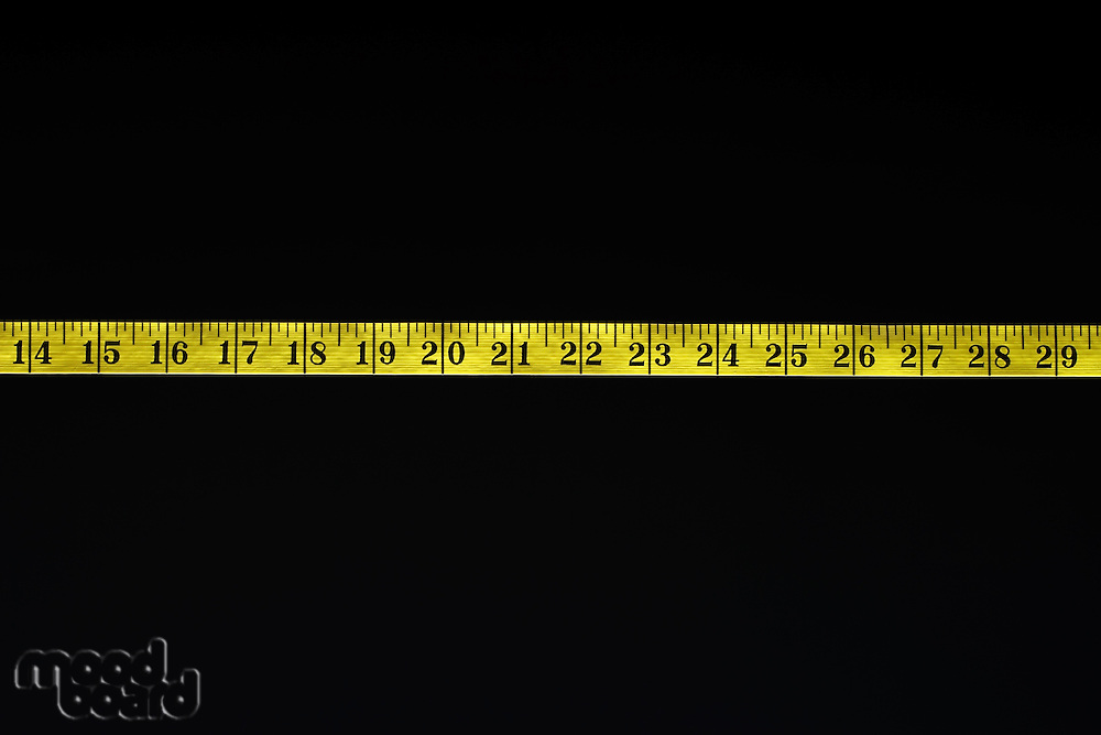 Inches on Measuring Tape