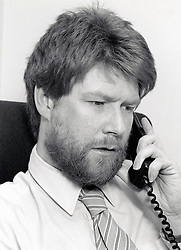 Office worker UK 1990s