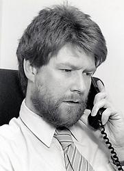 Office worker UK 1990s