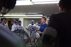 26 April 2009: Duke Blue Devils head coach John Danowski  during a 15-13 win over the North Carolina Tar Heels during the ACC Championship at Kenan Stadium in Chapel Hill, NC.
