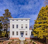Greek Revival mansion was built for whaling merchant Charles T. Dering ca. 1835. 67 Hampton St, Sag Harbor, NY