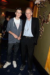 JAMES FOX and JIMMY FOX at the Hoping Foundation's 'Rock On' Benefit Evening for Palestinian refuge children held at the Cafe de Paris, London on 20th June 2013.