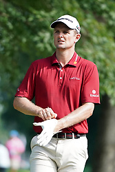August 9, 2018 - St. Louis, Missouri, United States - Justin Rose on the 11th tee during the first round of the 100th PGA Championship at Bellerive Country Club. (Credit Image: © Debby Wong via ZUMA Wire)