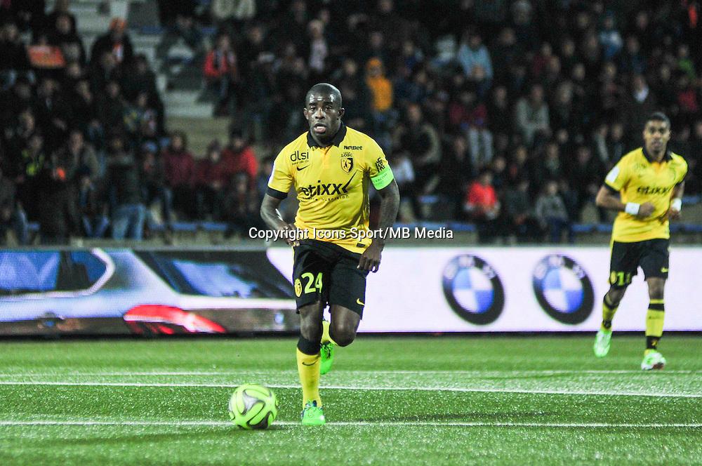 Rio Mavuba  - 17.01.2015 - Lorient / Lille - 21eme journee de Ligue 1 <br /> Photo : Phillipe Le Brech / Icon Sport