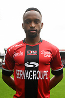 Lebobang Phiri during photocall of En Avant Guingamp for new season 2017/2018 on September 7, 2017 in Guingamp, France. (Photo by Philippe Le Brech/Icon Sport)