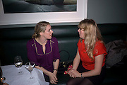 LAURA PARKER BOWLES; CATHERINE CAZALET, Brompton Bar And Grill - launch party - celeb update<br /> Brompton Bar And Grill, 243 Brompton Road, London, SW3 11 March 2009 *** Local Caption *** -DO NOT ARCHIVE-© Copyright Photograph by Dafydd Jones. 248 Clapham Rd. London SW9 0PZ. Tel 0207 820 0771. www.dafjones.com.<br /> LAURA PARKER BOWLES; CATHERINE CAZALET, Brompton Bar And Grill - launch party - celeb update<br /> Brompton Bar And Grill, 243 Brompton Road, London, SW3 11 March 2009