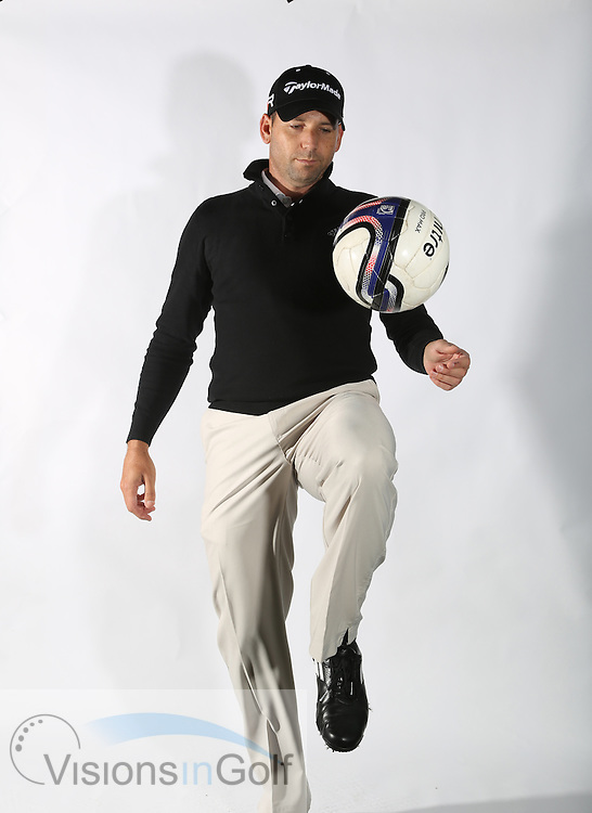 Sergio Garcia 2013<br /> golfer and major winner portrait, action, feature<br /> Picture Credit:  Mark Newcombe / www.visionsingolf.com