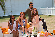 POLLY CULLIMORE; DEE ACHARIA; DIEGO BIVERO-VOLPE; OLIVIA GRANT; , Veuve Clicquot Gold Cup, Cowdray Park, Midhurst. 21 July 2013