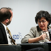 04 June 2015 - Belgium - Brussels - European Development Days - EDD - Growth , jobs and partnership with business - How to make a difference together in contributing to a sustainable and inclusive growth agenda - Arancha Gonzalez , Executive Director , International Trade Centre © European Union