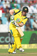 Phillip Hughes of Australia  during the 2nd One Day International (ODI) match in the Star Sports Series between India and Australia held at the Sawai Mansingh Stadium in Jaipur on the 16th October 2013<br /> <br /> Photo by Ron Gaunt-BCCI-SPORTZPICS<br /> <br /> Use of this image is subject to the terms and conditions as outlined by the BCCI. These terms can be found by following this link:<br /> <br /> http://sportzpics.photoshelter.com/gallery/BCCI-Image-terms-and-conditions/G00004IIt7eWyCv4/C0000ubZaQCkIRgQ