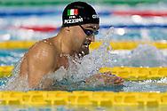 PIZZINI Luca Carabinieri<br /> 100 rana uomini<br /> Riccione 11-04-2018 Stadio del Nuoto <br /> Nuoto campionato italiano assoluto 2018<br /> Photo © Andrea Staccioli/Deepbluemedia/Insidefoto