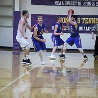 Men's Basketball: University of Northwestern-St. Paul Eagles vs. The College of St. Scholastica Saints