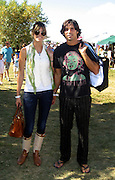 Christian Bale and girlfriend.Classic Horse Show.Bridgehampton, NY, USA.Sunday, September, 02, 2007.Photo By Celebrityvibe; .To license this image please call (212) 410 5354 ; or.Email: celebrityvibe@gmail.com;.