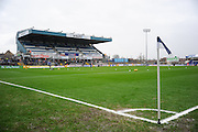 The Memorial ground during the EFL Sky Bet League 1 match between Bristol Rovers and Scunthorpe United at the Memorial Stadium, Bristol, England on 25 February 2017. Photo by Adam Rivers.