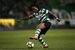 April 18, 2018 - Lisbon, Portugal - Sporting's forward Gelson Martins in action during Portuguese Cup 2017/18 match between Sporting CP vs FC Porto, in Lisbon, on April 18, 2018. (Credit Image: © Carlos Palma/NurPhoto via ZUMA Press)